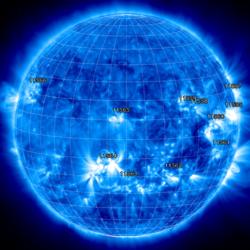 Daten von SolarMonitor.org